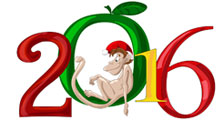Happy New Year - Year of the Monkey