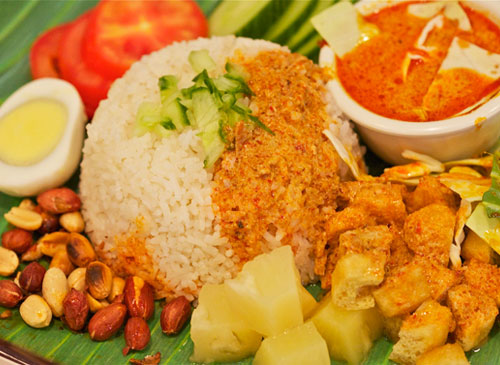 Nasi Vegi Curry