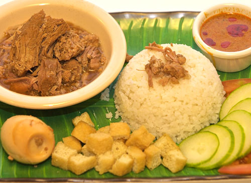 Stew Pork Rice