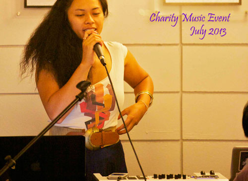 Charity Music Event, July 2013